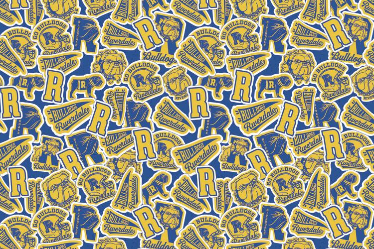 Wallpaper Mural Riverdale - Bulldogs