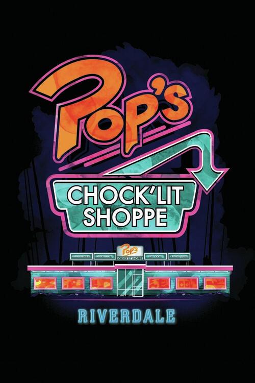 Wallpaper Mural Riverdale - Pop´s shoppe
