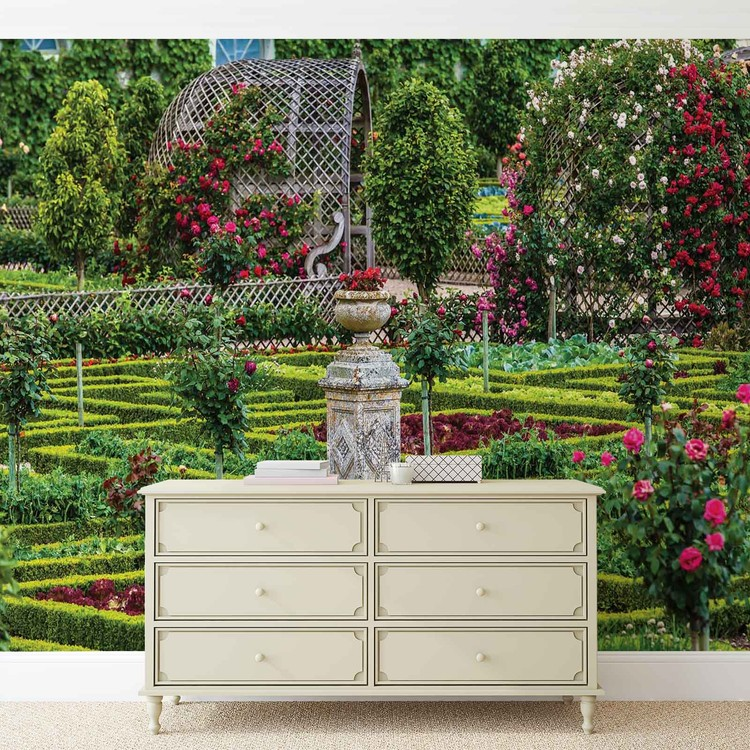 Rose Garden Wallpaper Mural