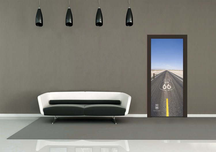 Route 66 - Road Wallpaper Mural