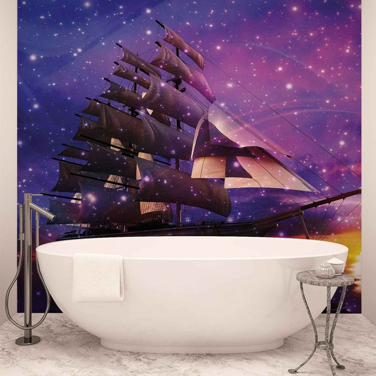 Sailing Ship Wallpaper Mural