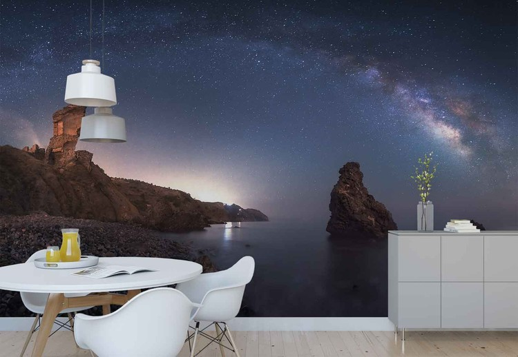 Sea Of Galaxies Wallpaper Mural