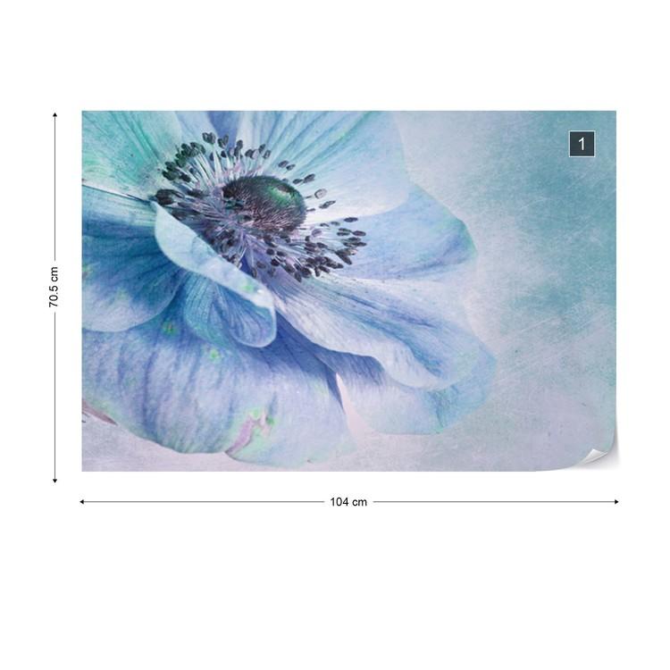 Shades Of Blue Wallpaper Mural