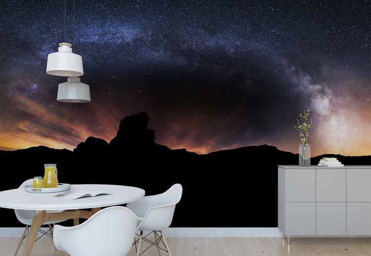 Silhouette Sky Wallpaper Mural