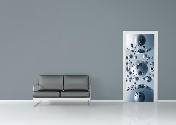 SILVER SATELLITES Wallpaper Mural