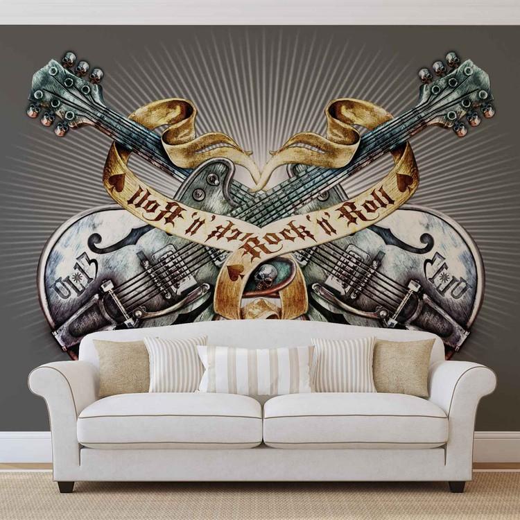 Skull Alchemy Wallpaper Mural