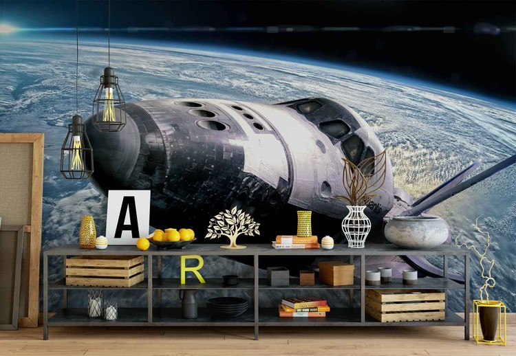 Space Shuttle Wall Paper Mural Buy at EuroPosters