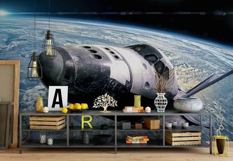 Space Shuttle Wallpaper Mural