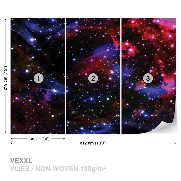 Space Stars Wallpaper Mural