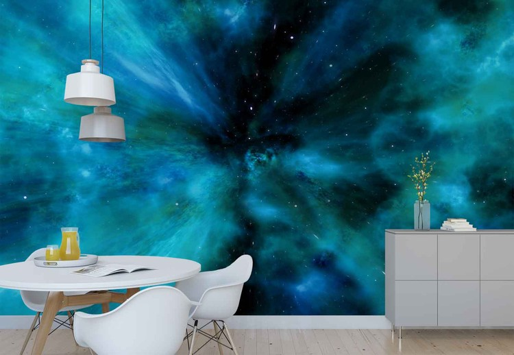 Space Warp Wallpaper Mural