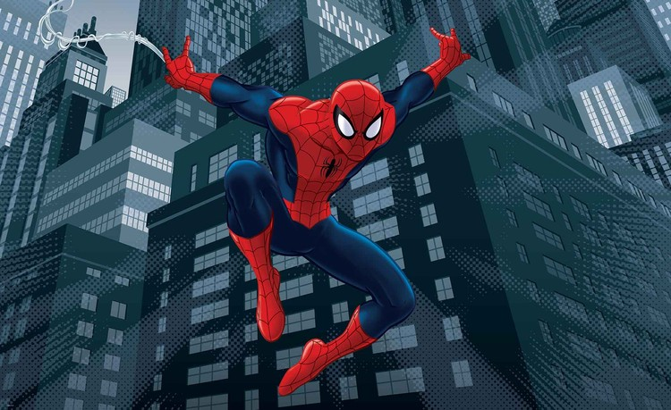 Spiderman Marvel Wall Paper Mural Buy At Europosters
