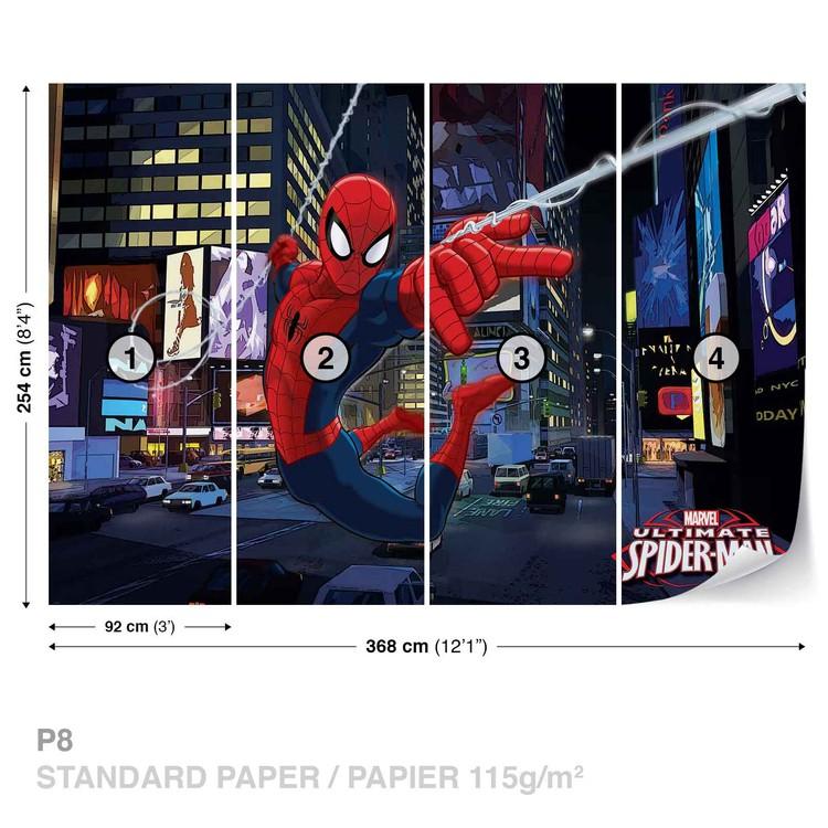 Spiderman Marvel Wallpaper Mural