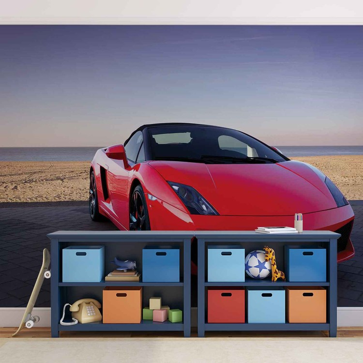 Sportscar Wallpaper Mural