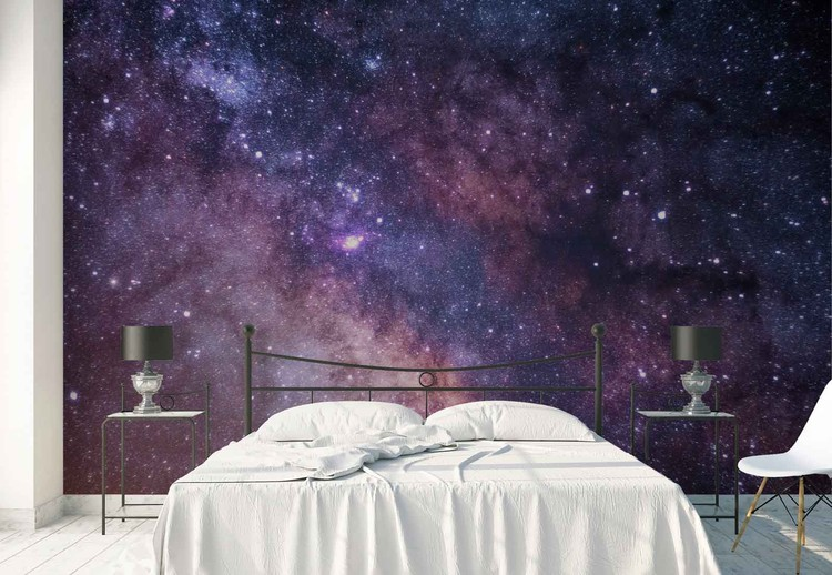 Star Painting Wallpaper Mural
