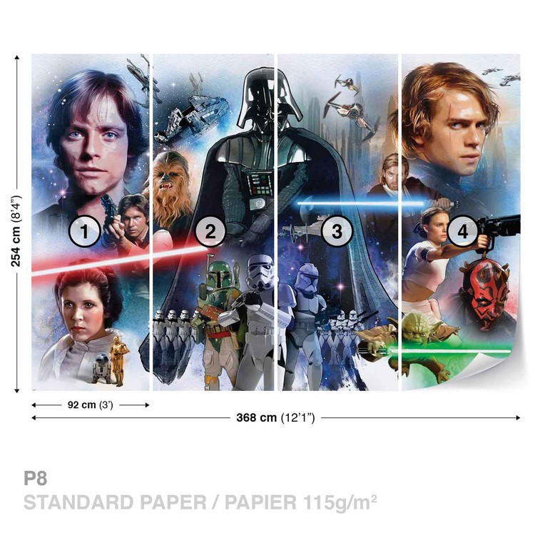 Star Wars Wallpaper Mural