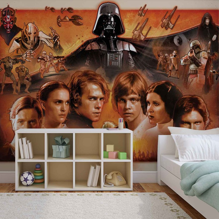 Star Wars Force Awakens Wallpaper Mural