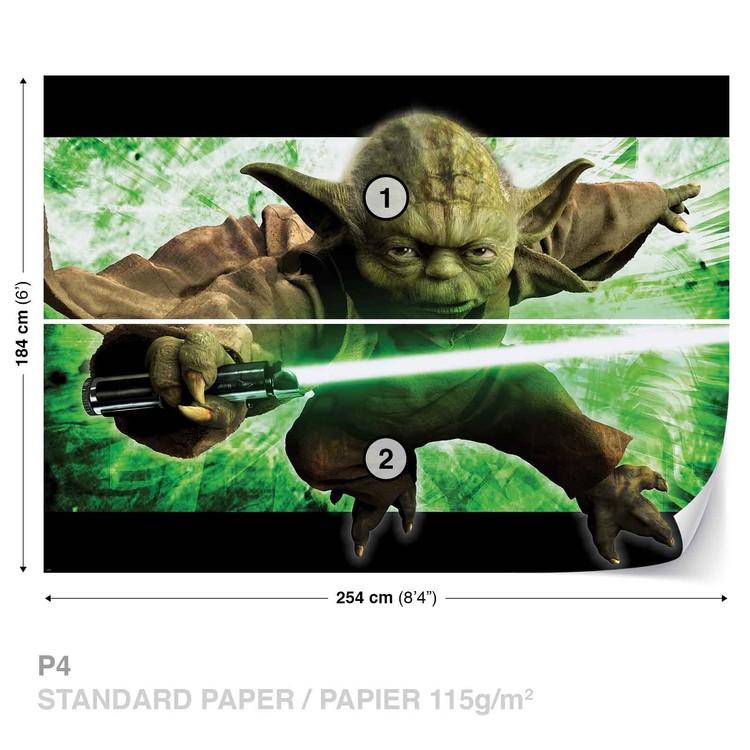 Star Wars Master Yoda Wallpaper Mural