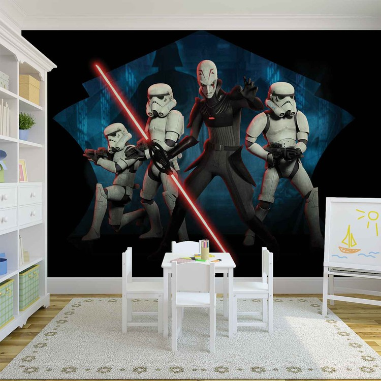 Star Wars Rebels Inquisitor Sith Wall Paper Mural Buy at EuroPosters