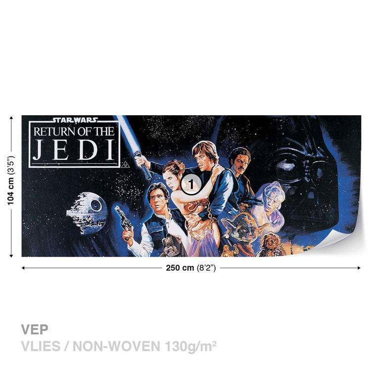 Star Wars Return Of The Jedi Wallpaper Mural