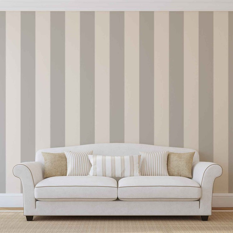 Stripes Pattern Wallpaper Mural