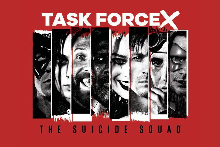 Wallpaper Mural Suicide Squad 2 - Task force X