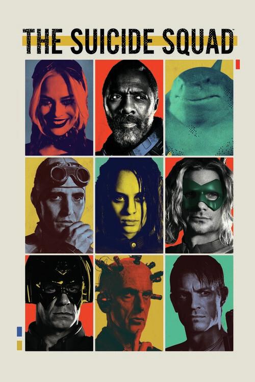Wallpaper Mural Suicide Squad - Crew 2