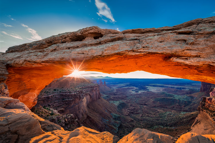 Sunrise at Mesa Arch Wallpaper Mural