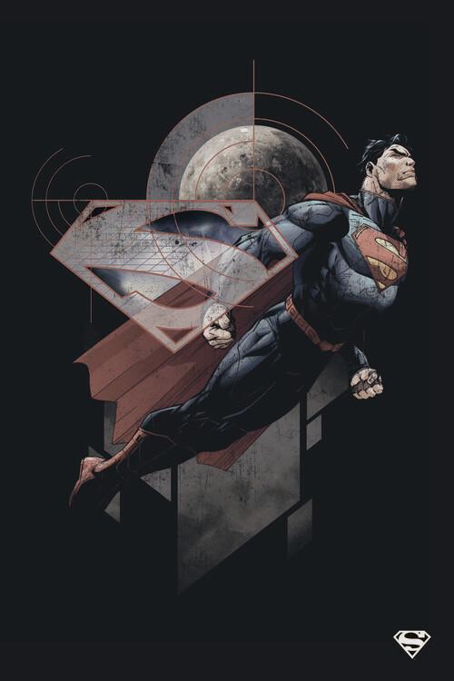 Wallpaper Mural Superman - Stellar
