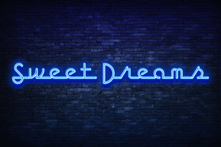 Sweet dreams Wallpaper Mural