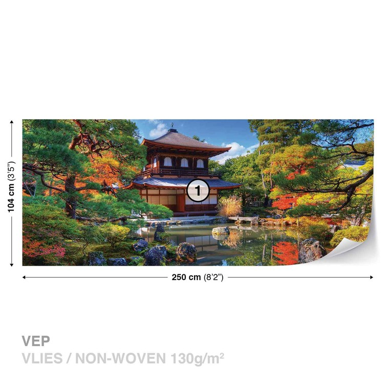 Temple Zen Japan Culture Wallpaper Mural