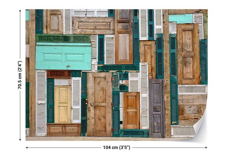 The Doors Wallpaper Mural
