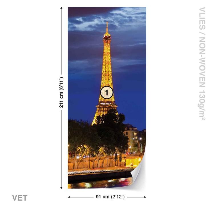The Eiffel Tower Wallpaper Mural