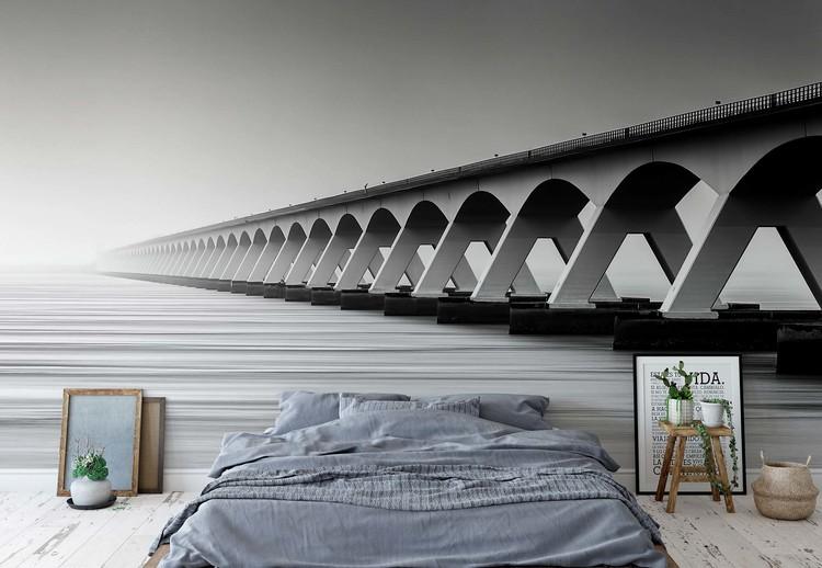 The Endless Bridge Wallpaper Mural