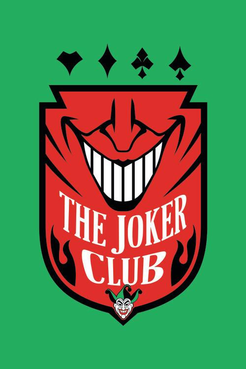 Wallpaper Mural The Joker - Club