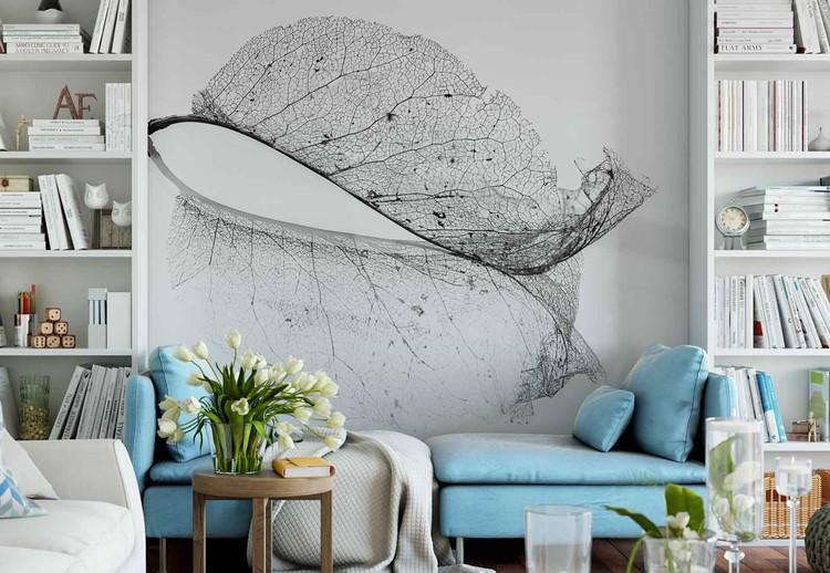 The Old Leaf Wallpaper Mural