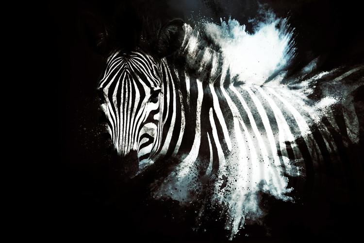 The Zebra II Wallpaper Mural