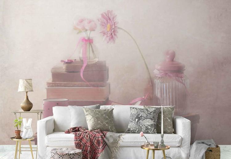 Think Pink Wallpaper Mural