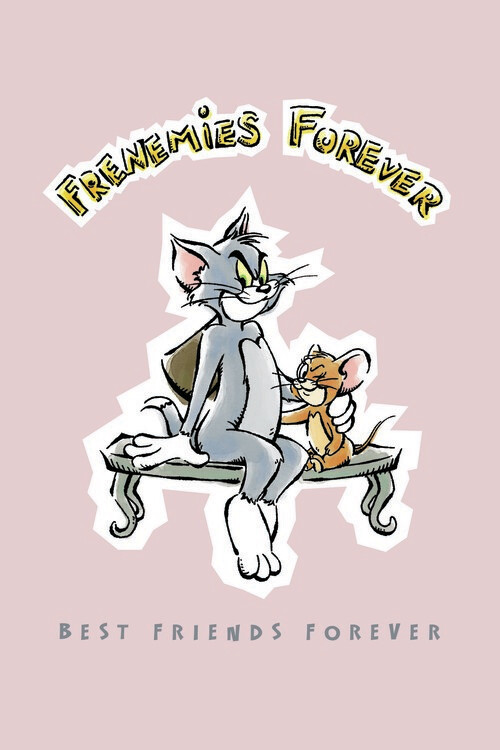 Wallpaper Mural Tom and Jerry - Best Friends Forever