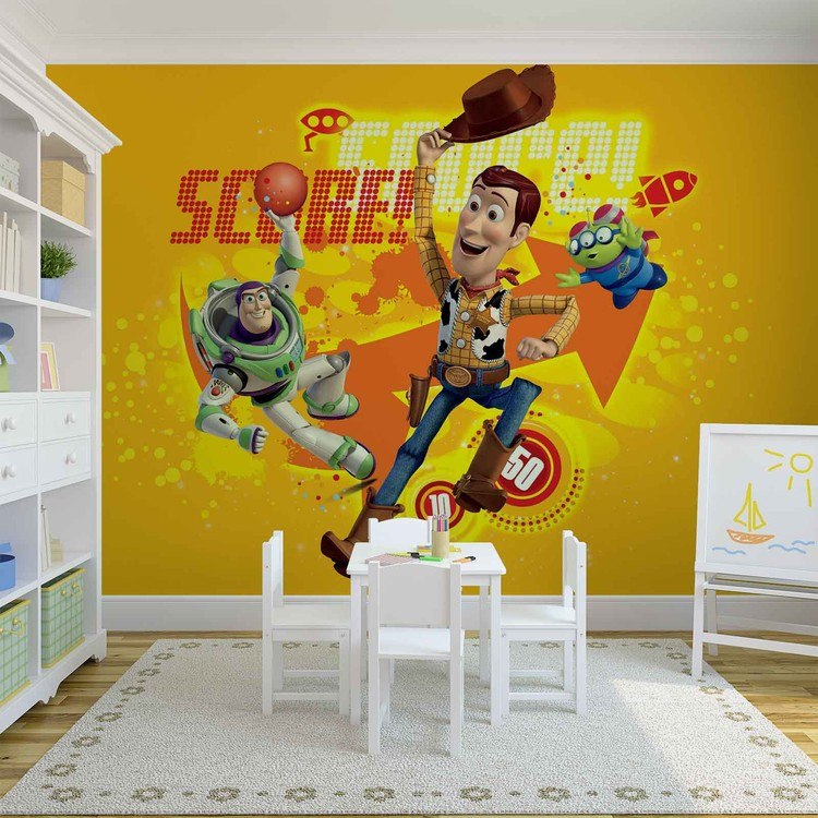 Toy Story Disney Wall Paper Mural | Buy at EuroPosters