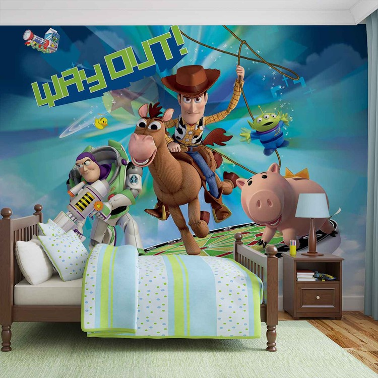 Toy Story Disney Wall Paper Mural Buy at EuroPosters