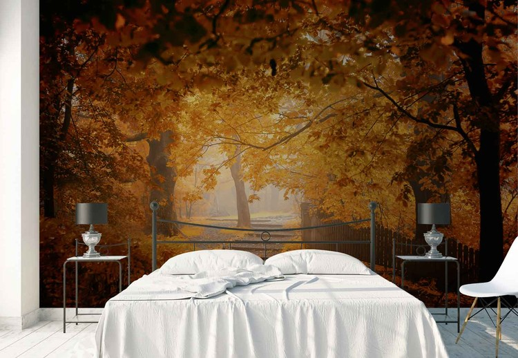 Turn To Fall Wall Paper Mural Buy At Europosters