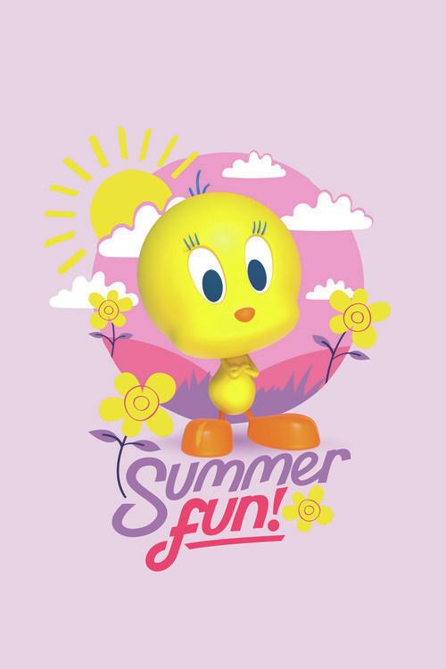 Wallpaper Mural Tweety - Summer fun
