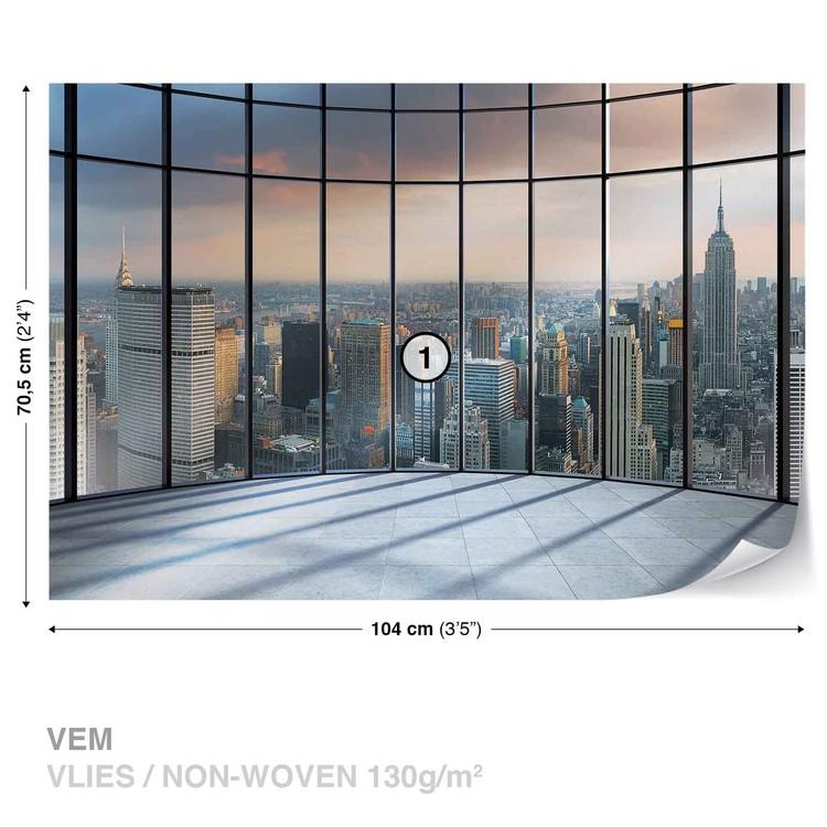 View New York City Wallpaper Mural