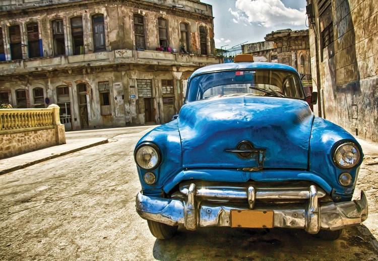 Vintage Car Cuba Havana Wallpaper Mural