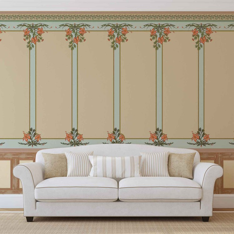 Vintage Design Wallpaper Mural