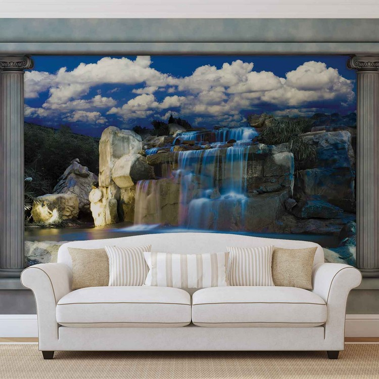 Waterfall Wallpaper Mural