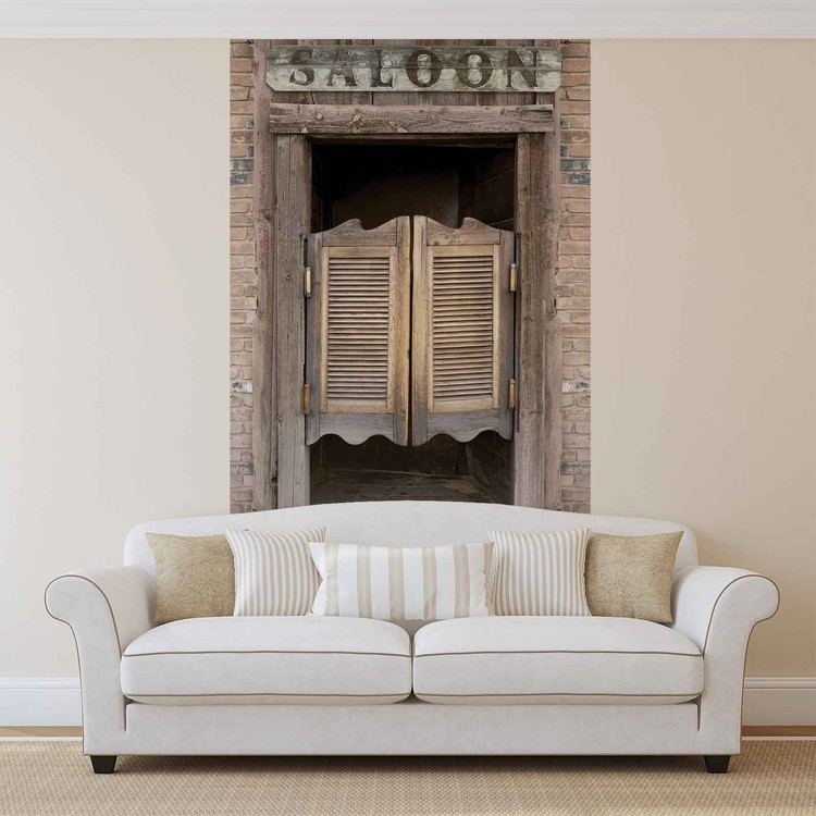 Western Saloon Bar Doors Wallpaper Mural Western Saloon Bar Doors Wallpaper Mural ... & Western Saloon Bar Doors Wall Paper Mural | Buy at EuroPosters