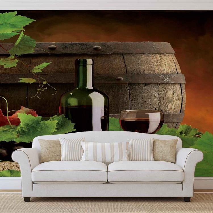 Wine Wallpaper Mural