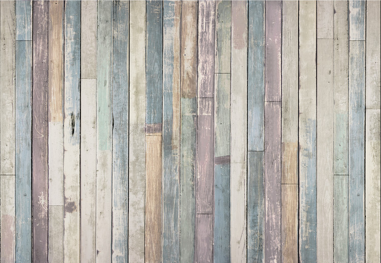 Wooden Wall Wallpaper Mural