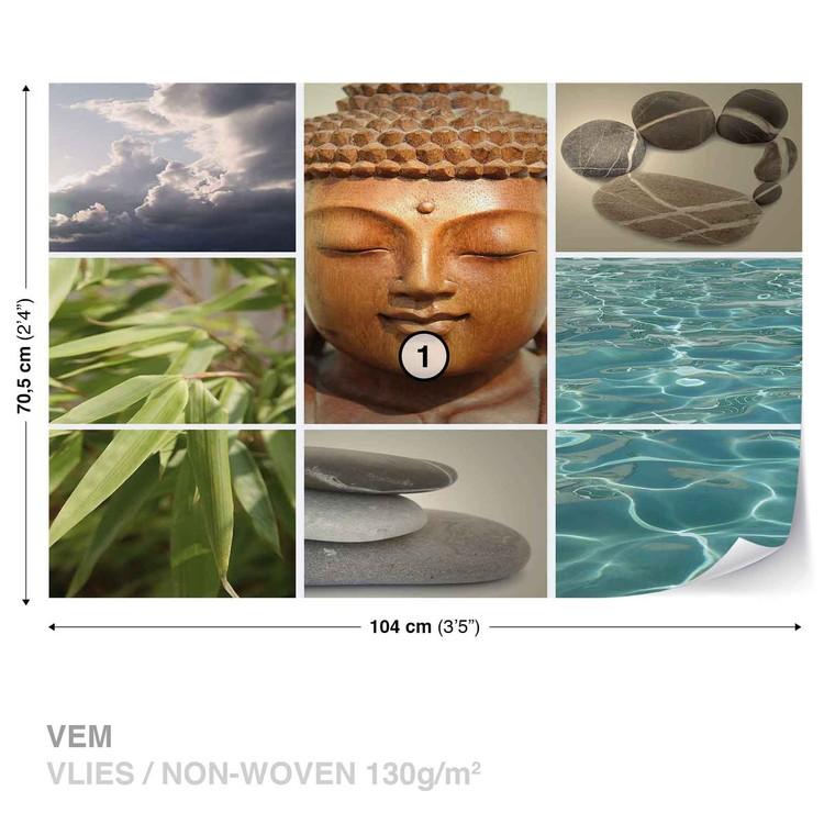 Zen Calming Scene Wallpaper Mural